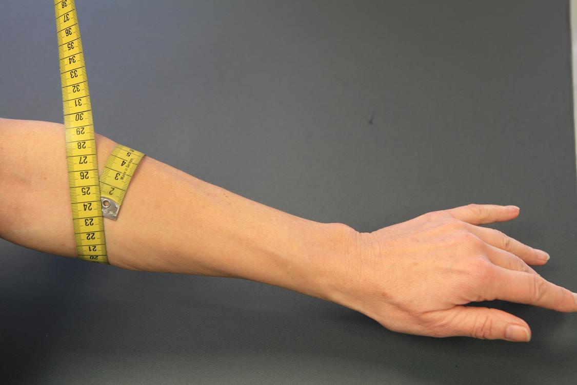 Unterarm-messen