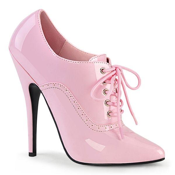 High-Heel Stiletto Lack Schnürpumps baby pink DOMINA-460