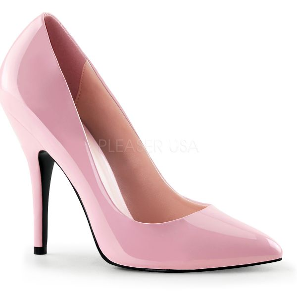 Klassische High Heel Lack Pumps SEDUCE-420 baby pink