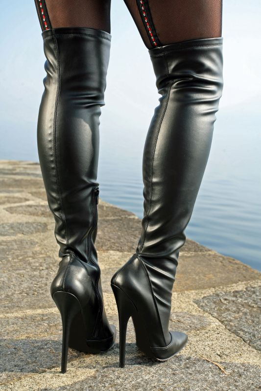 Ballett Stiefelette BALLET 1025 Leder schwarz