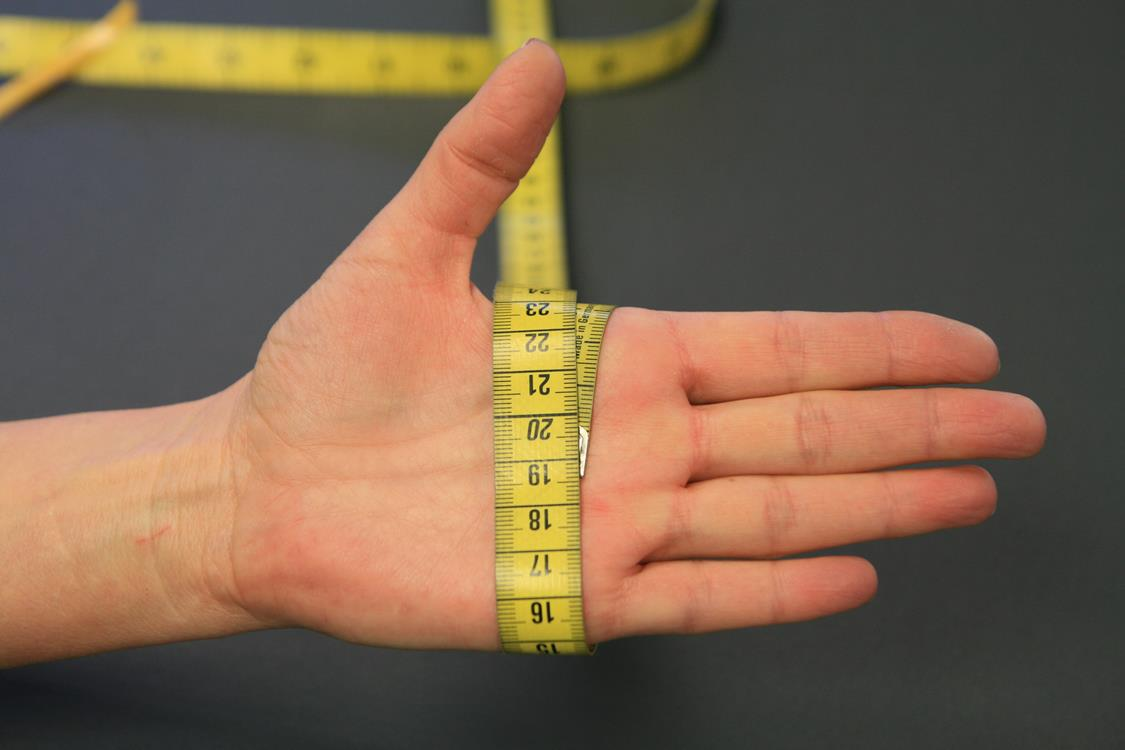Handumfang-messen
