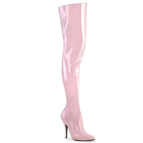Overknee Stiefel SEDUCE-3010 Lack baby pink