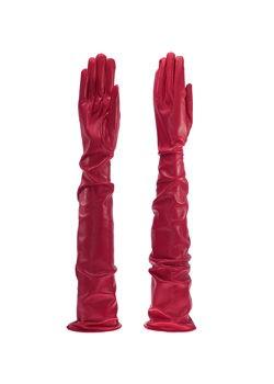 618e0045038e08 Lange Herren Lederhandschuhe - MICELI - Made in Italy
